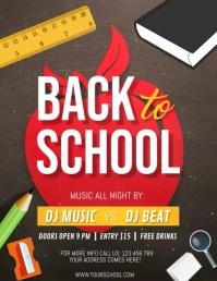 Back to School Video, School Flyer