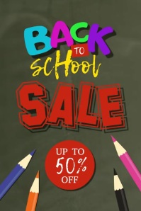 Back To School video Poster