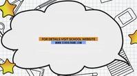 School Template Digitale Vertoning (16:9)