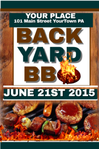 Back Yard BBQ