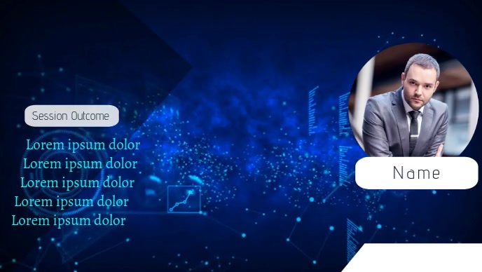 Background for Zoom Video Advert Facebook-omslagvideo (16: 9) template