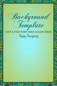 Background Template Poster