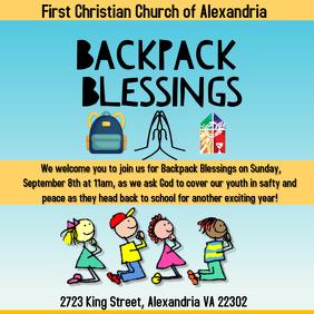 Backpack Blessings