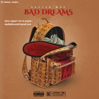 BAD DREAMS - CD cover art - Capa de álbum template