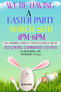 Easter Invite template