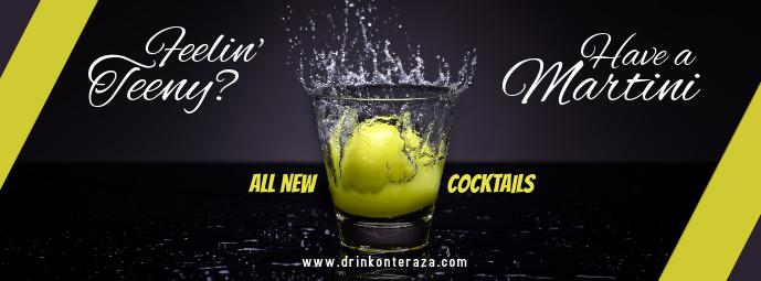 Bar Facebook Cover Template