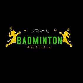 Badminton Lions Championship Design Логотип template