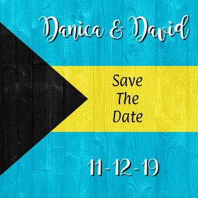 Bahamas Save the Date