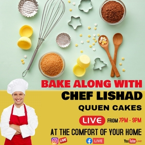 BAKE ALONG WITH POSTER TEMPLATE