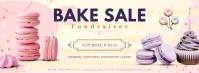 Bake Sale Advert Facebook Cover template