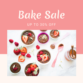 Bake Sale Discount Template