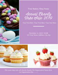 Bake Sale Event Flyer Template