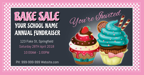 Bake Sale Facebook Event Cover
