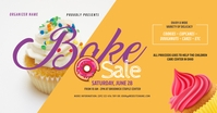Bake Sale Facebook Shared Image template