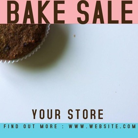 BAKE SALE FLYER FUNDRAISER