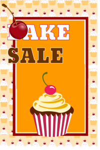 picture about Free Printable Bake Sale Signs called Design and style Absolutely free Bake Sale Flyers PosterMyWall