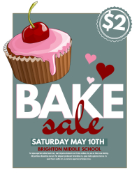 270 customizable design templates for bake sale postermywall