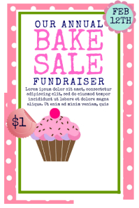 8150 Customizable Design Templates For Bake Sale Postermywall