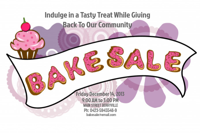 Bake Sale Flyer Template | Postermywall