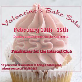 Bake Sale Fundraiser Flyer/Poster