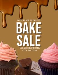 Bake Sale Fundraiser Event Flyer Template
