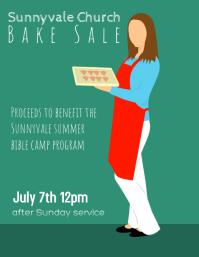 Bake Sale Church Firehouse Fundraiser Flyer