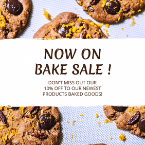 Bake Sale Instagram Template