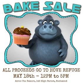 Bake Sale Instagram Template