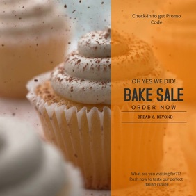 Bake Sale Instagram Video Template