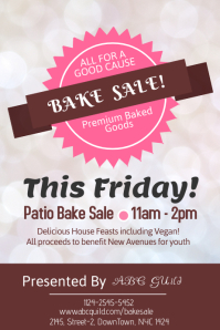 Customizable Design Templates for Bake Sale | PosterMyWall