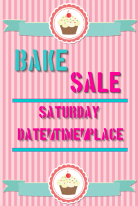 7 320 customizable design templates for bake sale postermywall