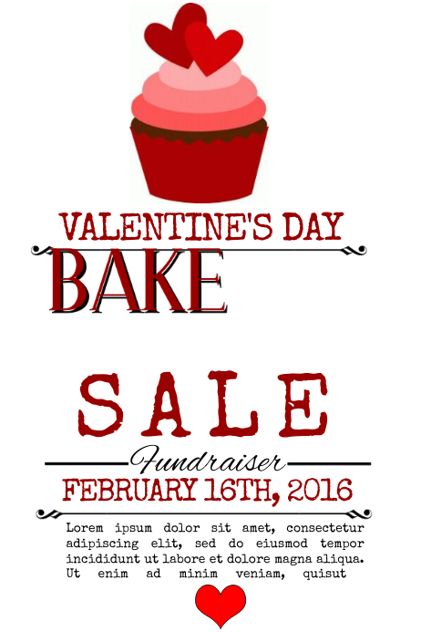 Bake Sale Template Postermywall
