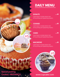 Bake Sale Price List Template