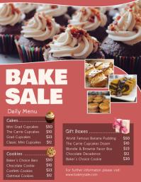 Bake Sale Pricelist Flyer Template
