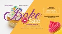 Bake Sale Twitter Post template