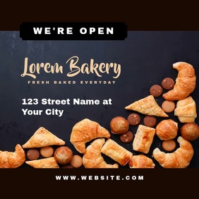 Bakery and Pastry Shop Open Video Ad