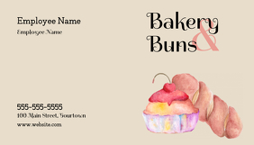 Bakery Business Card Ikhadi Lebhizinisi template