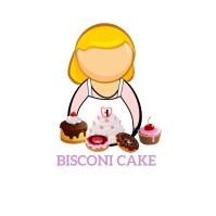 Bakery cake Logo template