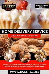 bakery Affiche template