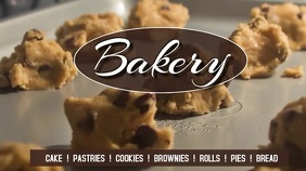bakery Digital Display (16:9) template