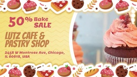 Bakery Discount Promotion Facebook Cover Video