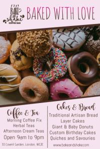 Bakery Donut Promo Poster