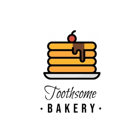 Bakery drawn logo template 2