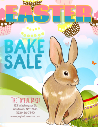 Bakery Easter Day Sale Flyer