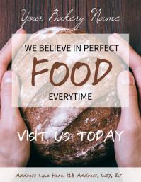 Bakery Factory / Shop Flyer Template