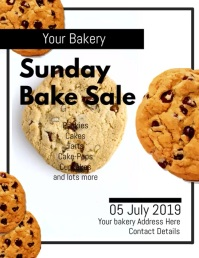 Bakery Flyer DIGITAL VIDEO TEMPLATE DESIGN