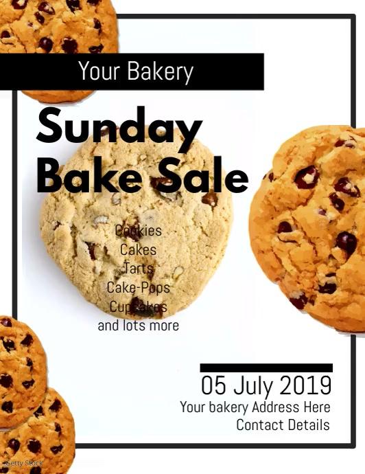Bakery Flyer DIGITAL VIDEO TEMPLATE DESIGN