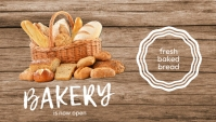 Bakery is Now Open Facebook Ad template