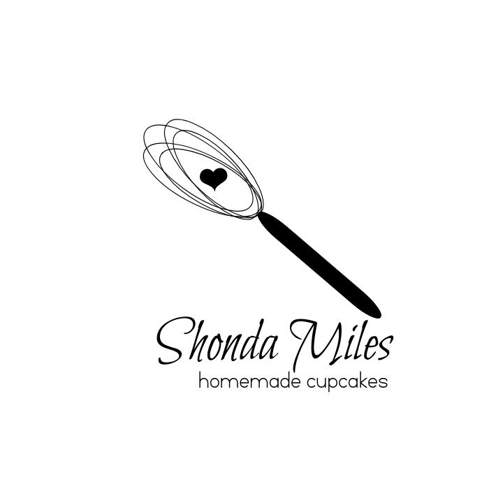 Bakery Logo Hand Whisk template