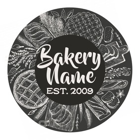 Bakery logo Template